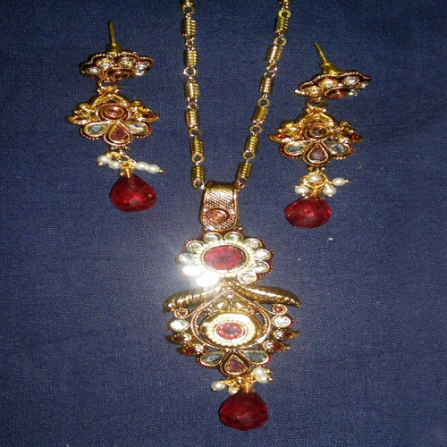 Antique Pendant Set - Be-jewelled