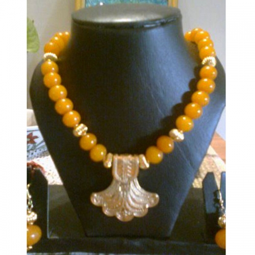 Mango & Gold Naecklace - Chingari Jewellery