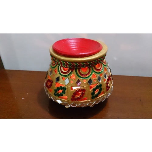 buy garba 2 matka earthen pot navratri