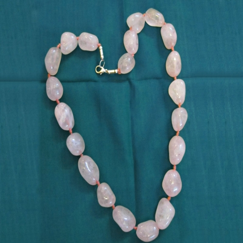 Baby Pink Lovers Necklace - Hk