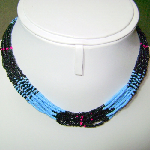 Tarquoise & Balck Necklace