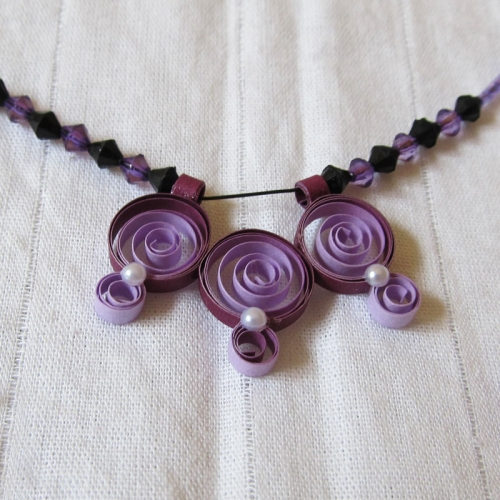 Paper Quilled Jewelry - Novel Ideas