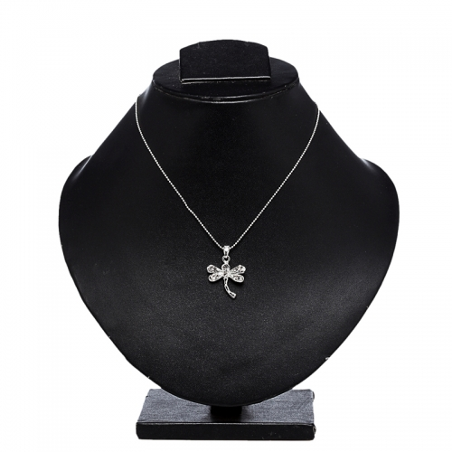 Butterfly Pendant Necklace Set - Peacock Collection