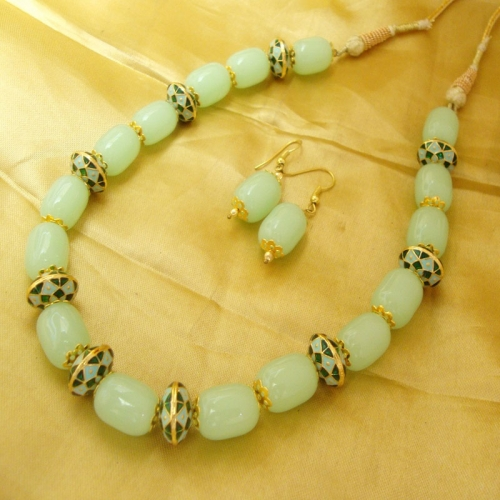 Green Sea Necklace Set