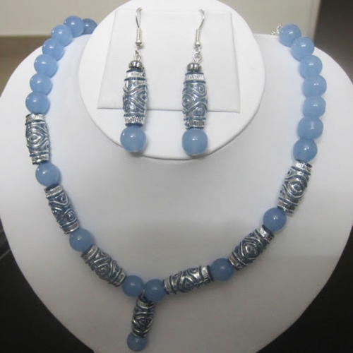 Blue-silver Set - Tanusha