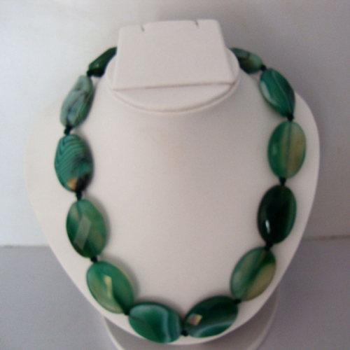 Fancy Green Crystal Necklace