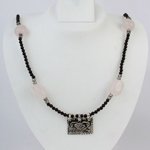 Floral Chitai Necklace