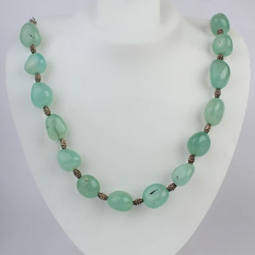 Light Blue Show-stopper Necklace