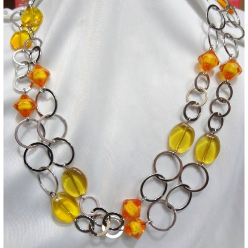 Bold And Beautiful  Long Necklace