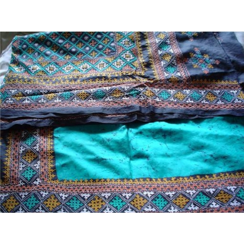 Kantha Stich Saree With Sophistication On Silk