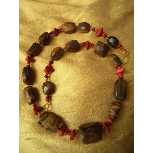 Tiger Eye Necklace -aliff Lailaa-090142