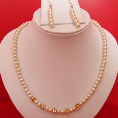 Necklace Set With Matching Earring Set