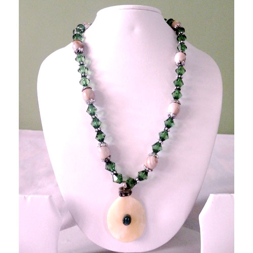 Beautiful Necklace With Tribal Pendant