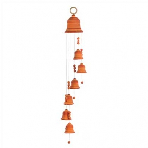 Buy terracotta wind chimes from birbhum bankura for Terracotta wind chimes